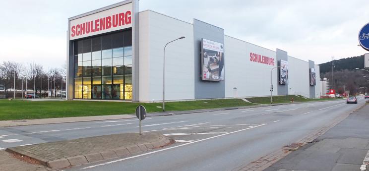 Tejo-Möbelmarkt und TesCom Verwaltungsgebäude, Goslar